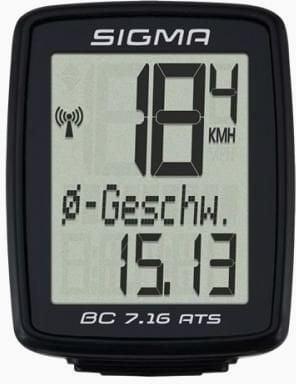Sigma Bike computer BC 7.16 ATS