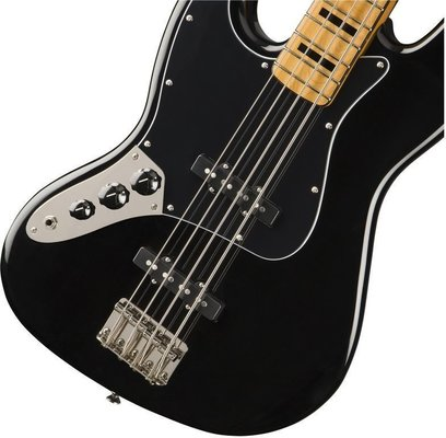 Fender Squier Classic Vibe 70s Jazz Bass LH MN Black