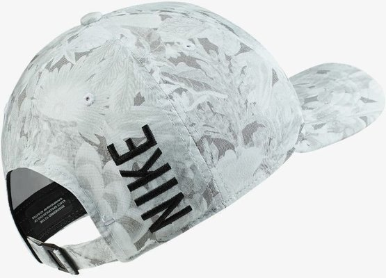 Nike Arobill CLC99 Floral Print Cap White