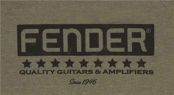 Fender Bassbreaker Logo T-Shirt Army L