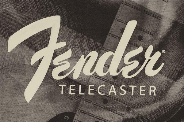 Fender Tele Belt Print T-Shirt XXL