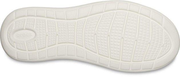 Crocs Men's LiteRide Mesh Lace Smoke/White 8