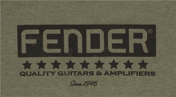 Fender Bassbreaker Logo T-Shirt Army M
