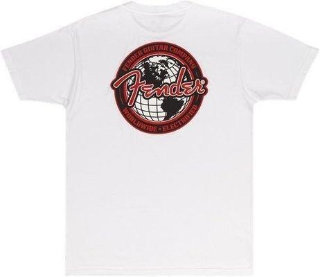 Fender Spaghetti Logo Globe T-Shirt XXL