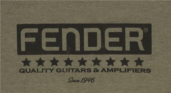 Fender Bassbreaker Logo T-Shirt Army S