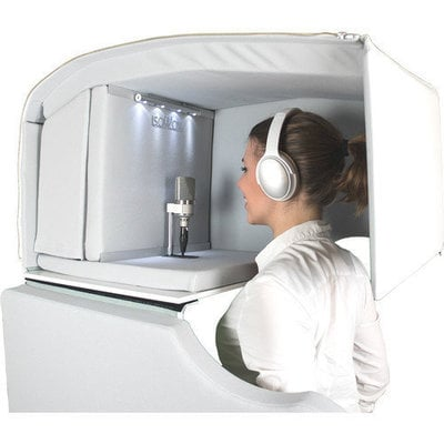 Isovox Mobile Vocal Booth V2 White