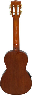 Mahalo Electric-Acoustic Concert Ukulele Vintage Natural