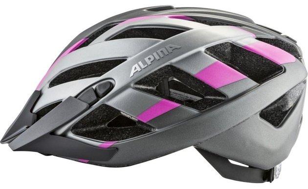 Alpina Helmet Panoma 2.0 L.E. Titanium/Pink 56-59