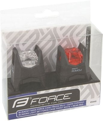Force Light Set F CAGE Front - White/Rear - Red