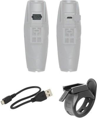 Force Front Light Shark-1000 USB Black