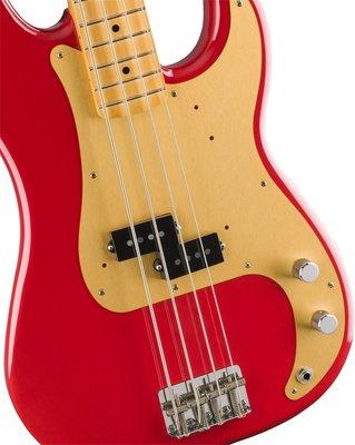 Fender Vintera 50s Precision Bass MN Vintage Dakota Red