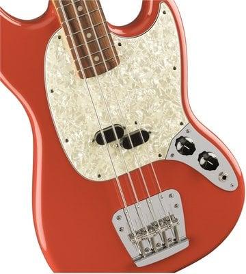 Fender Vintera 60s Mustang Bass PF Fiesta Red