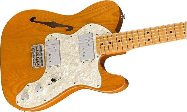 Fender Vintera 70s Telecaster Thinline MN Aged Natural