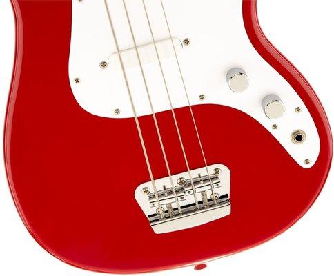 Fender Squier Bronco Bass MN Torino Red