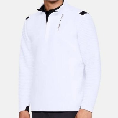 Under Armour Storm Daytona 1/2 Zip Mens Sweater White S