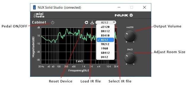 Nux Mini Studio IR Loader