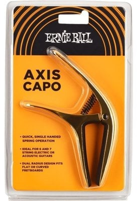 Ernie Ball Axis Capo Gold