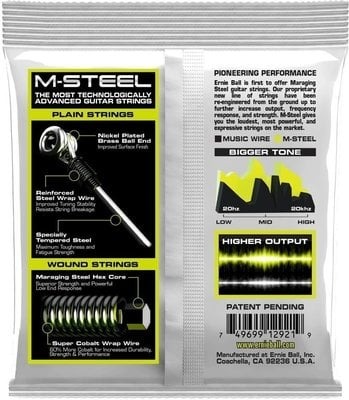 Ernie Ball 2921 M-Steel Regular Slinky