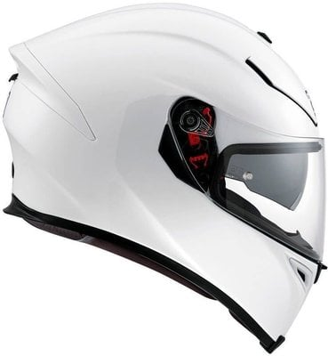 AGV K-5 S Solid Pearl White S