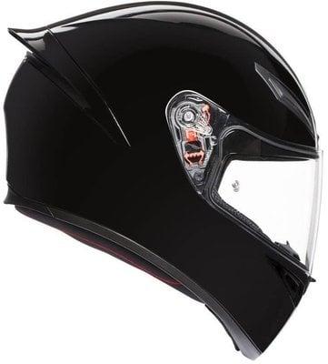 AGV K1 Solid Black XS