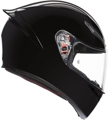 AGV K1 Solid Black ML
