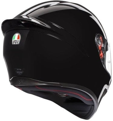 AGV K1 Solid Black L