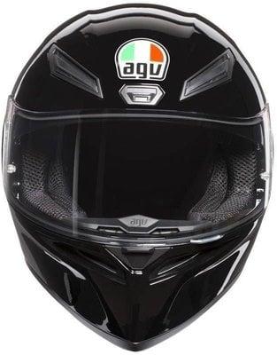 AGV K1 Solid Black XL