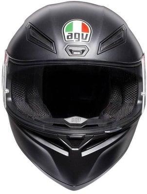AGV K1 Solid Matt Black XS