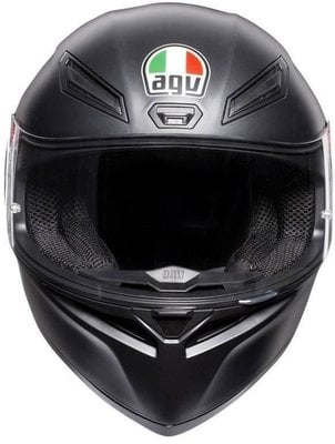 AGV K1 Solid Matt Black ML