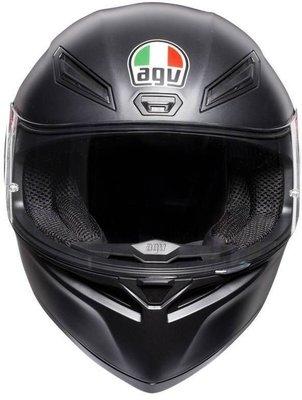 AGV K1 Solid Matt Black L