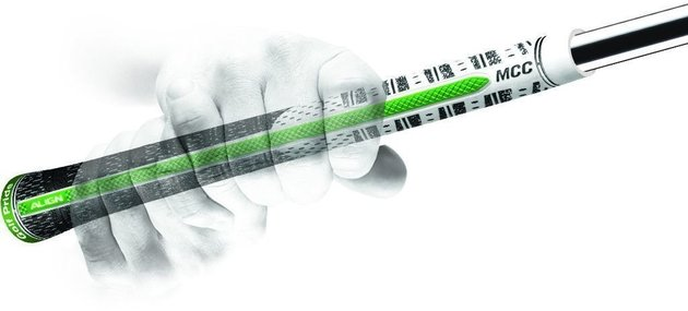 Golf Pride MCC ALIGN Golf Grip White/Green Standard