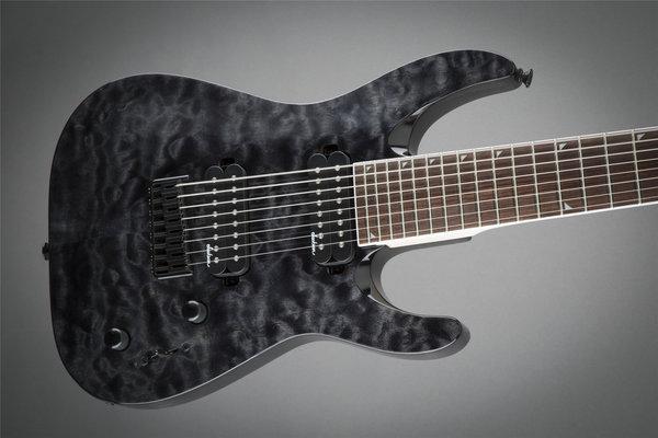 Jackson JS32-8Q Dinky IL Transparent Black