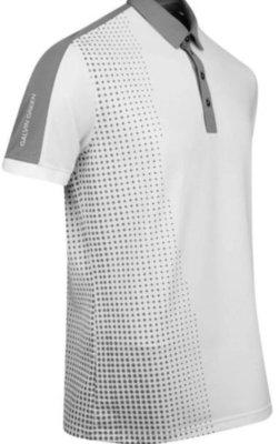 Galvin Green Moe Ventil8 Mens Polo Shirt White/Sharkskin L