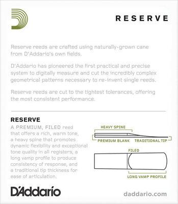 Rico DIR1020 Reserve - Soprano Saxophone Reeds 2.0