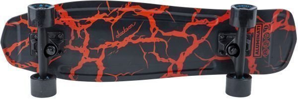 Jackson Crakle Skateboard Red