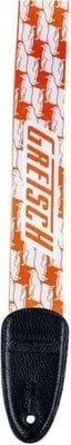 Gretsch Strap Double Penguin Orange/White