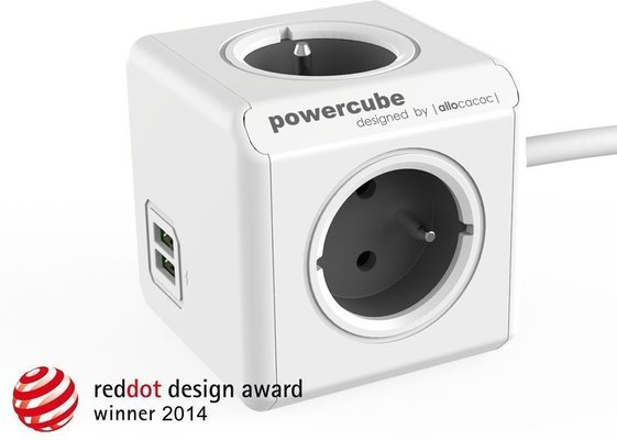 PowerCube Extended USB Grey