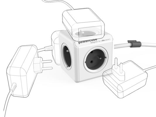 PowerCube Extended Grey
