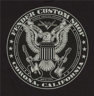 Fender Custom Shop Eagle Workshirt Black M