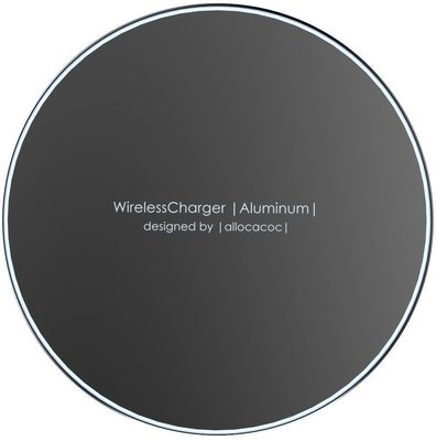 PowerCube WirelessCharger Aluminum