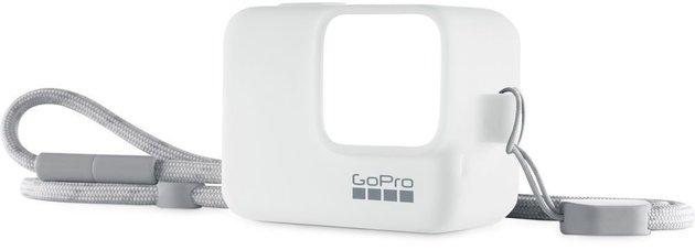 GoPro Sleeve + Lanyard White