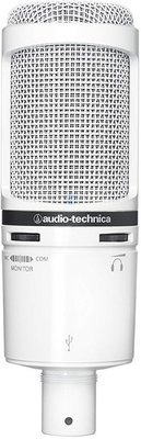 Audio-Technica AT2020USB+ White