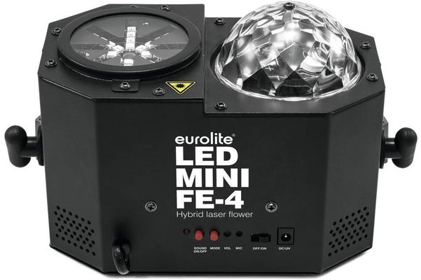 Eurolite LED Mini Flower with Laser