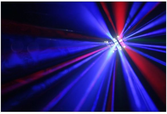 BeamZ LED Butterfly 3x3W
