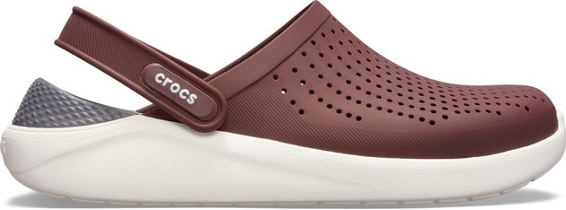 Crocs LiteRide Clog Burgundy/White 37-38