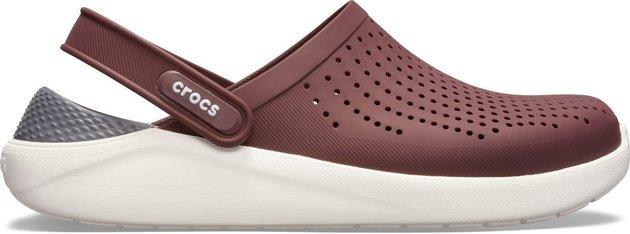 Crocs Lite Ride Clog Unisex Burgundy/White 39-40