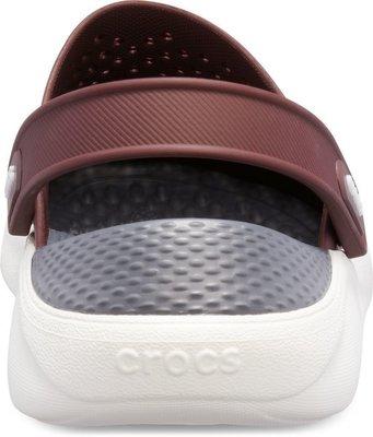 Crocs Lite Ride Clog Unisex Burgundy/White 43-44