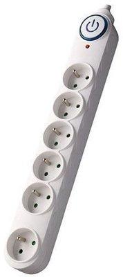 LEWITZ PO64 Extension Power Supply 5 m 6x Socket