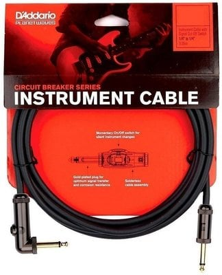 D'Addario Planet Waves PW AGRA 10 Instrument Cable-Lifetime Warranty