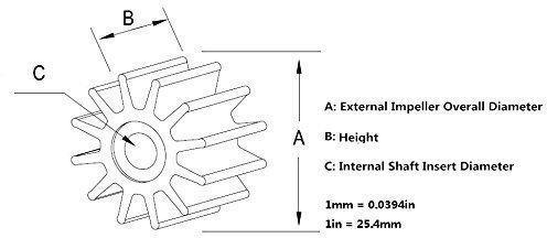 Yamaha Motors Impeller 6H3-44352-00-00